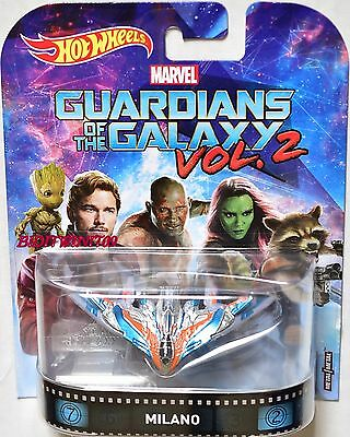 Hot Wheels 2017 Retro Entertainment Marvel Guardians Of The Galaxy Milano