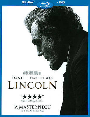 BRAND NEW! FACTORY SEALED! Lincoln (Blu-ray/DVD, 2013, 2-Disc Set)