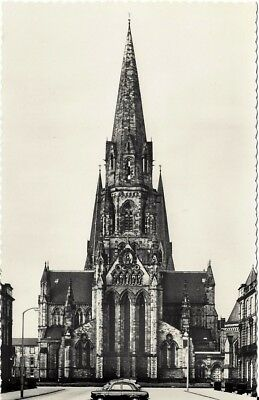 """Vintage collectible 3.5"""" x 5.5"""" POSTCARD Cathedral Church St. Mary Edinburgh UK"""