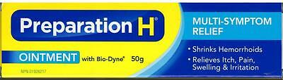 Canadian Preparation H Ointment Bio-Dyne Multi-Symptom 50g Tube From Canada 🇨🇦