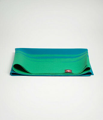 Manduka: eKO SuperLite Travel Yoga Mat - Cayo Marbled (blue/green)