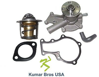 New Kubota D722 Water Pump with Return Hose & Thermostat