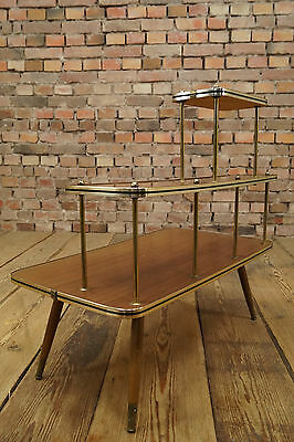 50er Flower Stand 60s Vintage Flower Bench Mid Century Design Side Table Table