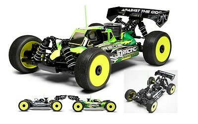 JQRacing THECAR Black Edition 1:8 Offroad Buggy Kit JQB0777