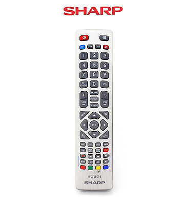 Genuine Sharp Aquos Remote Control for Full HD Smart LED Freeview TV'S