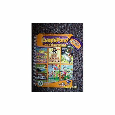 Leapfrog: Leap's Pond Activity And Game Book Cartridge Included