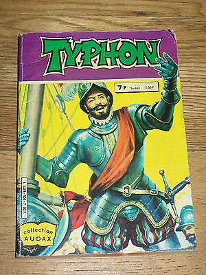 BD Recueil TYPHON 952-Collection audax-Aredit-contient n° 27 & 28