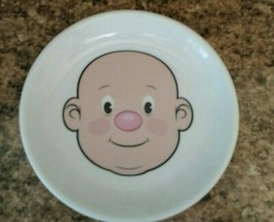 Fred Plays with his food Ceramic Nostalgic Face Plate Great Condition