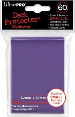 New Ultra Pro Ultra Pro Deck Protectors PURPLE - Small (Yugioh) Size 60pk