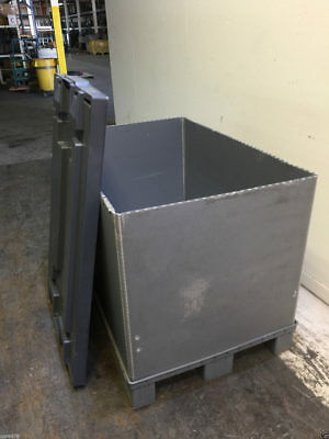 Collapsible Polypropylene Pallet Container Qty. 100