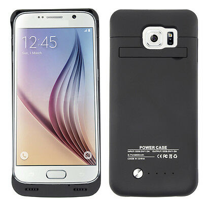 4200mah External Battery Charger Power Bank Case Cover For Samsung Galaxy S6