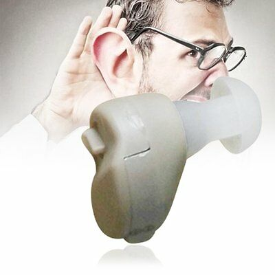 Small In-Ear Voice Sound Amplifier Adjustable Tone Mini Hearing Ear Aid Hot SO
