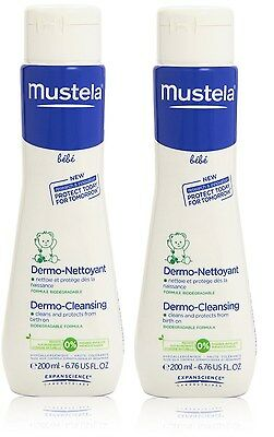 Mustela BeBe Dermo Cleansing Gel for Hair Body Baby Kids 200ml 6.76oz EX-07-2017