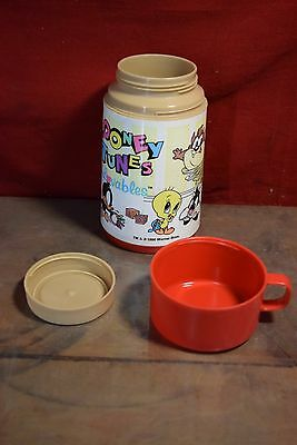 1996 Looney Tunes Lovables Thermos Rare