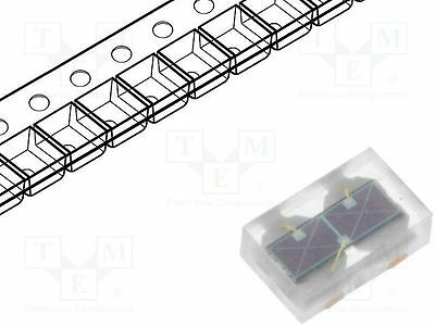 1 St. Fotodiode; 500-1000nm; Montage: SMD; Abm:2,9x1,8mm