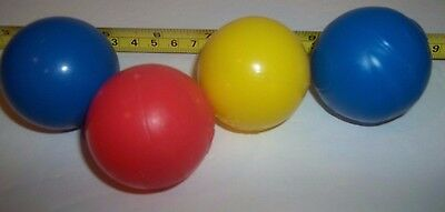 Assorted BRIGHT STARTS BALLS REPLACEMENTS Toys Lot of 4