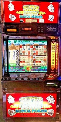 Igt Poker Machine  Slot Machine Upgraded Lcd Touch Screen ! Free  Delivery