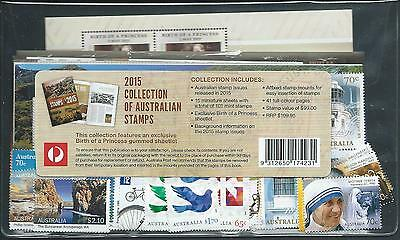 "2015 Australia ""The Collection of 2015 Australian Stamps"" Complete Set:MUH"