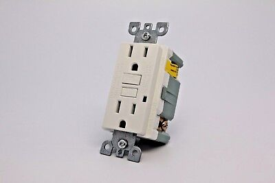 15A Gfci Safety Outlet 2008 Ul - White