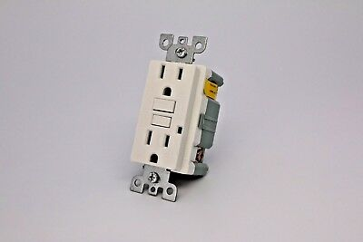 15A Gfci Tr Safety Outlet 2008 Ul - White