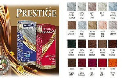 PRESTIGE SEMI-PERMANENT HAIR TONER NO AMMONIA AND OXIDANT 100ML Beblonde BeColor