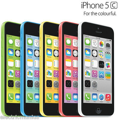 Unlocked APPLE iPhone 5C A1532 8GB 4G Mobile SIMFREE iOS Smartphone GRADE AAA+