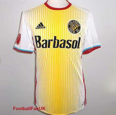 COLUMBUS CREW Adidas Official Away Shirt 16 S,M,L,XL,Camiseta De Fútbol XXL MLS