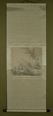 Chinese Painting Hanging Scroll Landscape China Asian art Picture Paint Old x60