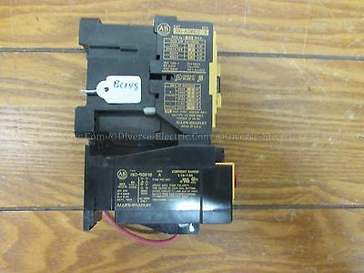 Allen Bradley 100-A09ND3 SER A And 193-BSB16 SER A Contactor Relay  220V-660V