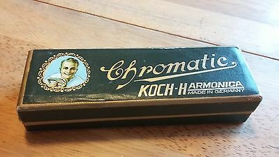 KOCH Harmonica - Chromatic Made in Germany, excellent condition in original box