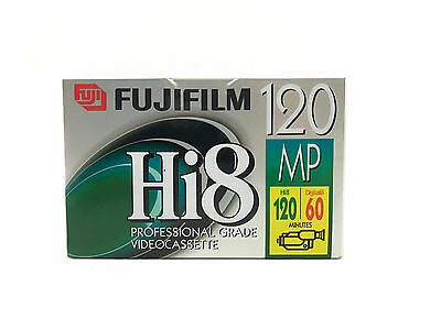 NEW FUJIFILM HI8 MP P6-120 Professional Grade Video Cassette Blank Sealed