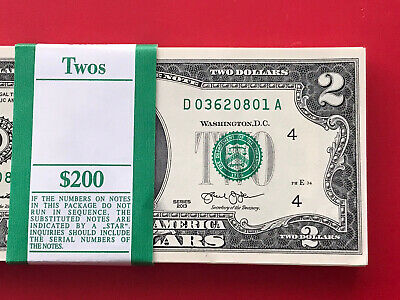 2013  $2 TWO DOLLAR NOTE ( Cleveland) ,UNCIRCULATED