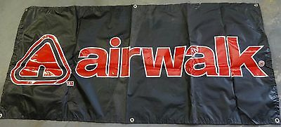 Vintage AIRWALK Shoes Logo Display Banner, From 1990's Snow Summit Event