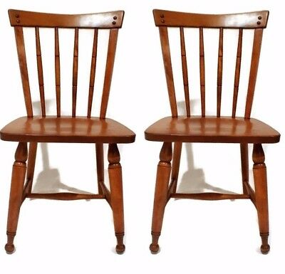 1950s Accent Chairs.Beautiful Pair 1950 S Ethan Allen Accent Chairs