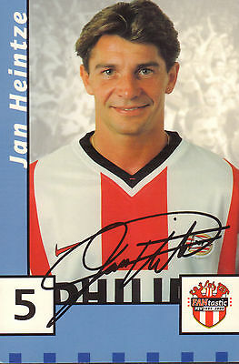 Psv Photo Jan Heintze + Autograph