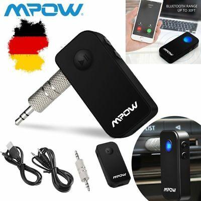 Mpow Tragbare Bluetooth 4.1 Empfänger Drahtlos Bluetooth Receiver Adapter Neu