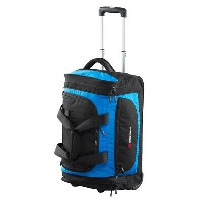 Caribee Technic Roller 55cm - Wheeled Duffle Travel Bag - Blue