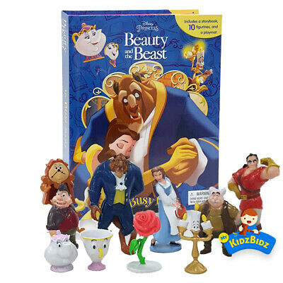 Beauty and the Beast My Busy Book & Map Plus 12 Figures