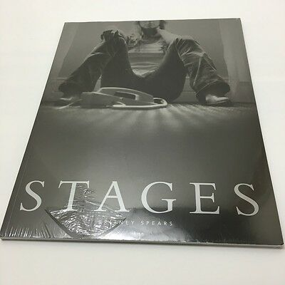 BRITNEY SPEARS STAGES PHOTO BOOK w/DVD NEW
