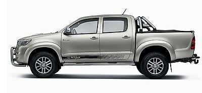 TOYOTA HILUX  2xside body decal vinyl graphics racing sticker hight quality