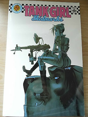 Tank Girl Skidmarks Unnumbered Mini Series Comic Graphic Novel Collection 2010