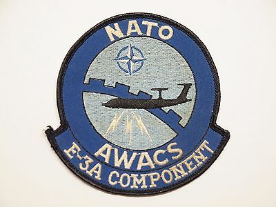 Vintage NATO Patch E-3A COMPONENT Airborne Warning & Control AWACS Air Force