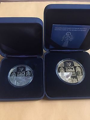Belarus 2013 1025th Anniversary of Christianizing Rus 20+1 Rubles Silver+Cu Ni