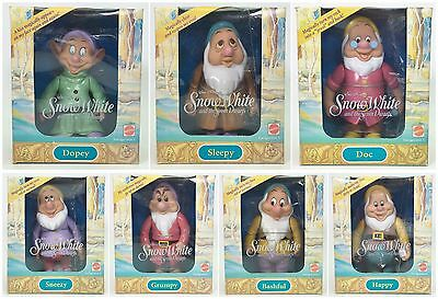 Lot Of 7 Disney Snow White And The Seven Dwarfs Nrfb