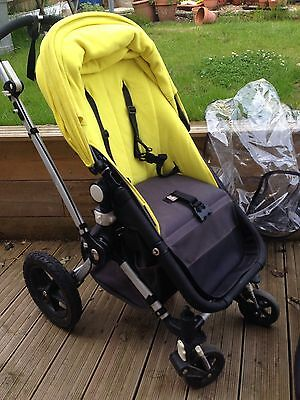 how to put raincover on bugaboo cameleon