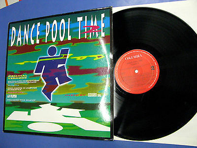 Lp Dance Pool Time 2 Columbia ‎1992 Made in Holland COL 472664 1