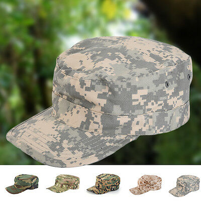 Outdoor Fishing Cap Fisherman Camouflage Hat Peaked Cap Military Training Cap