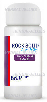 Mens Original Herbal Sex Jellies x 7 - SOLID AS A ROCK - Oral Jelly UK Seller