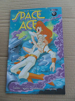 Space Ace 2 .  based  on the Don Bluth Video Game - Crossgen 2003 - VF