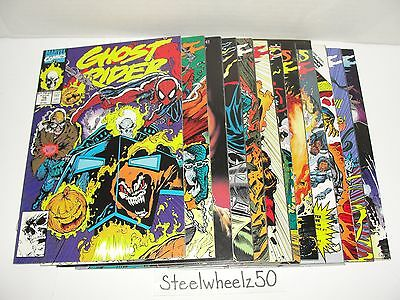 Ghost Rider 12 Comic Lot Marvel 1991 #16 17 18 20 23 24 27 28 31 32 36 Annual 1